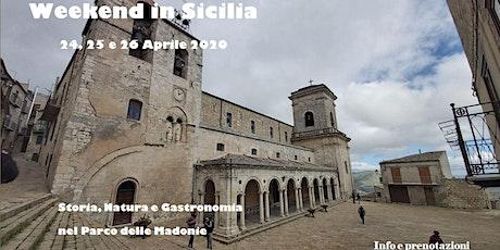 Weekend in Sicilia. Trekking delle Madonie biglietti