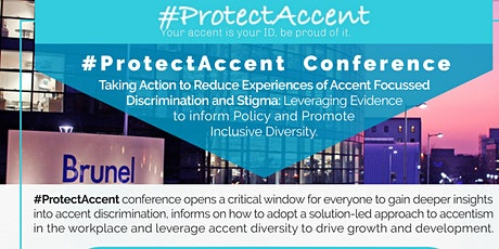 #ProtectAccent Conference 2020 tickets