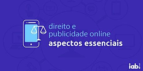 Curso | Direito e Publicidade Online - Aspectos Essenciais ingressos