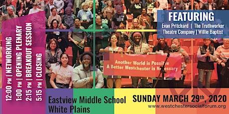 Westchester Social Forum 2020 tickets