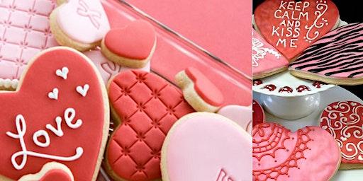 """Galentine"" Sugar Cookie Decorating"