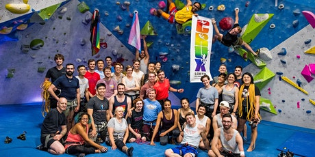 CRUX LGBTQ Climbing - 1st Fridays @The Cliffs Newbie Night tickets