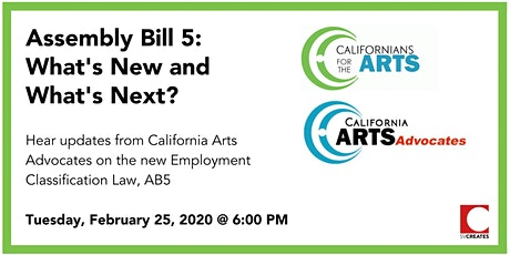 Assembly Bill 5: What's New and What's Next? tickets