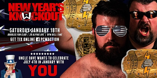 "PCW's ""New Years Knockout!"""