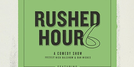 Rushed Hour 6 (FREE Comedy show in Park Slope, Brooklyn) tickets