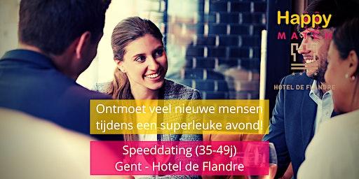 Speeddating Gent, 35-49j