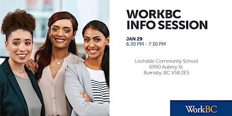 WorkBC Info Session - Lochdale Community School tickets