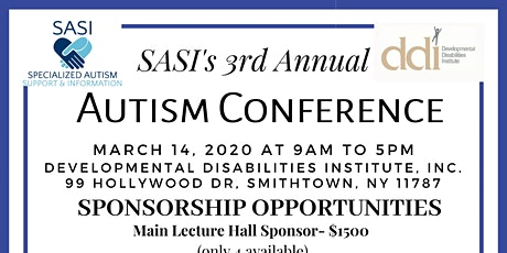 SASI's 3rd Annual Autism Conference tickets