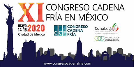 XI Congreso Cadena Fría en México boletos