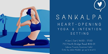 Sankalpa: New year Yoga & Intention-setting workshop tickets
