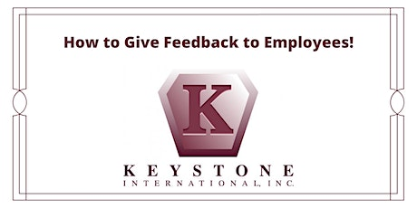 How to Give Feedback to Employees! tickets