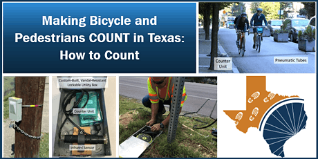 Making Bicycle and Pedestrians COUNT in Texas: How to Count tickets