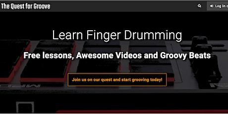 Finger Drumming Masterclass with Robert Mathijs from QuestForGroove.com tickets
