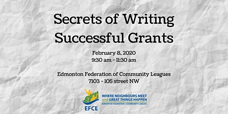 Secrets of Writing Successful Grants  tickets
