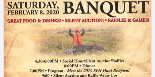 3rd Annual Shot for Hope Banquet