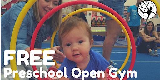 Free Preschool Open Gym January