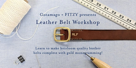 Belt Making Workshop tickets