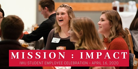 IWU Student Employee Celebration 2020 – Sponsorship Opportunities tickets