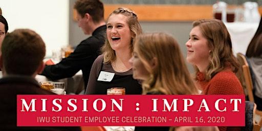 IWU Student Employee Celebration 2020 – Sponsorship Opportunities