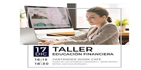 Taller de Educación Financiera entradas