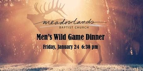 2020 Meadowlands Baptist Church Wild Game Dinner tickets