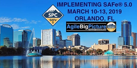 ORLANDO, FLORIDA - Implementing SAFe® 5.0 w/SPC Cert *GUARANTEED TO RUN* tickets