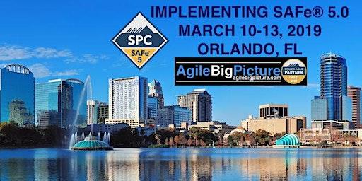 ORLANDO, FLORIDA - Implementing SAFe® 5.0 w/SPC Cert *GUARANTEED TO RUN*