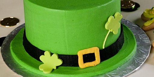 Leprechaun Hat Cake Decorating (Adult and Child)