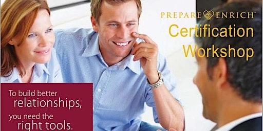 Certification for Prepare-Enrich, Training