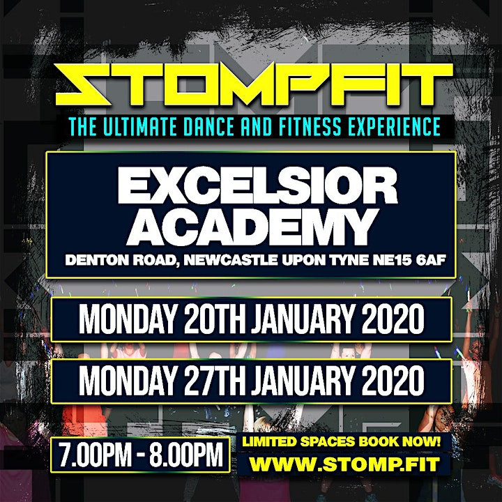 STOMPFIT | NEWCASTLE|THE ULTIMATE DANCE & FITNESS EXPERIENCE image