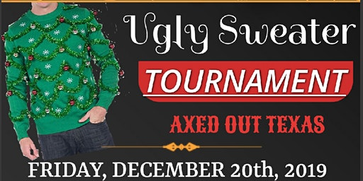 Ugly Sweater Axe Throwing Tournament