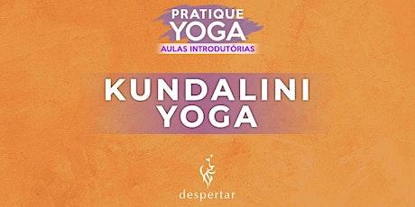 Aula Introdutória  - Kundalini Yoga   ingressos