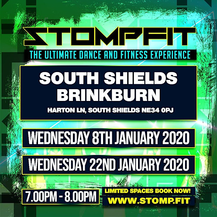 STOMPFIT | SOUTH SHIELDS |THE ULTIMATE DANCE & FITNESS EXPERIENCE image