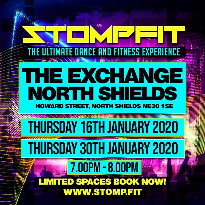 STOMPFIT | NORTH SHIELDS |THE ULTIMATE DANCE & FITNESS EXPERIENCE image