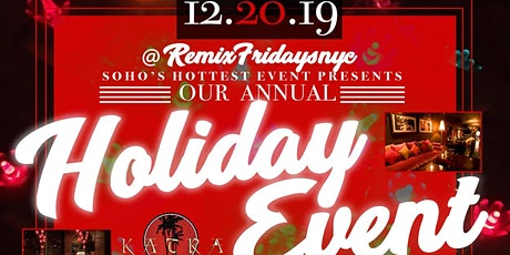 12/20/19 Remix Friday (No Cover) @ Katra *JM Promo* tickets