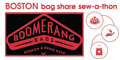 Boomerang Bags Boston MLK Weekend Service Sew-A-Thon January 2020