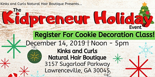 Kidpreneur Holiday Event