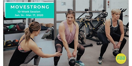 MOVESTRONG - Calmar (10-Week Session ~ Jan. 14 to Mar. 17, 2020) tickets
