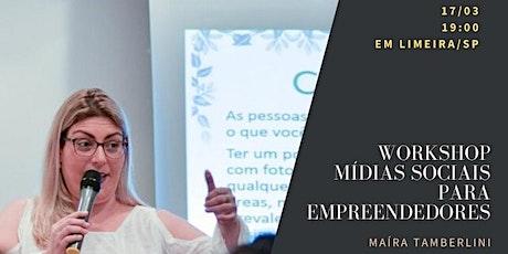 Mídias Sociais para Empreendedores ingressos