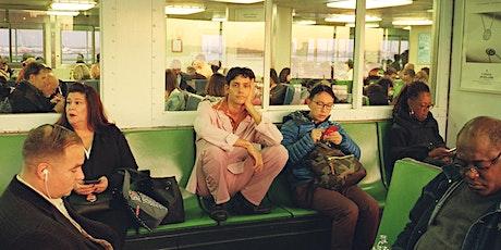 Liam Benzvi with Tara tickets