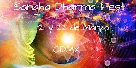 Sangha Dharma Fest CDMX2020 boletos