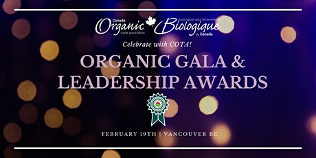 2020 Organic Gala & Leadership Awards tickets