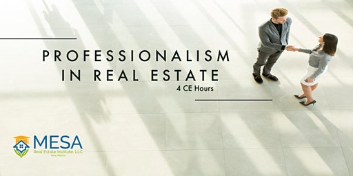 Professionalism in Real Estate
