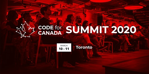 The 2020 Code for Canada Summit