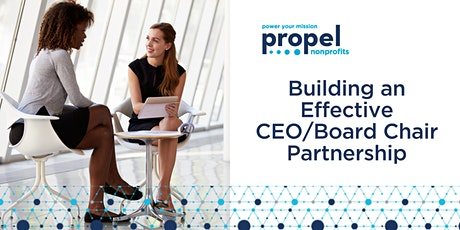 Building an Effective CEO/Board Chair Partnership - December 8, 2020 tickets