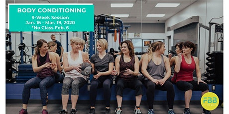Body Conditioning Group Fitness Class (9-Week Session ~ Jan. 16 to Mar. 19) tickets