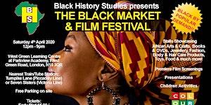 The Black Market & Film Festival - Saturday 4th April...