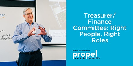 Treasurer/Finance Committee: Right People, Right Roles (Virtual) - July 15, 2020 tickets