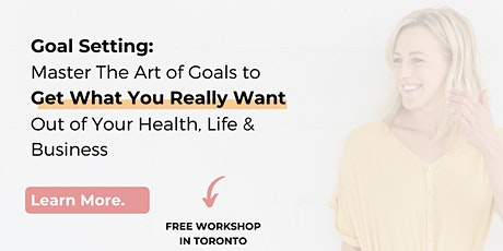 Master The Art of Goal Setting tickets