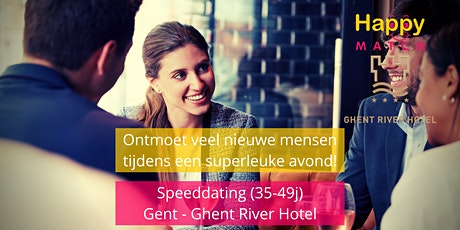 Speeddating Gent, 35-49j tickets